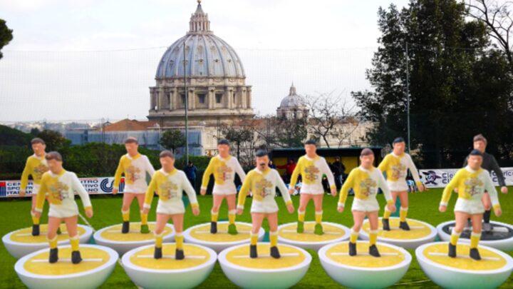 calcio vaticano subbuteo